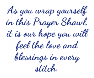 prayer shawl message
